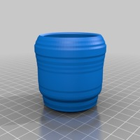 Small shot glass 3D Printing 14077