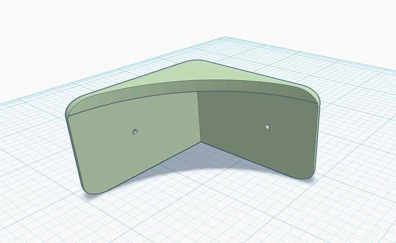 Table Corner Protector 1.25 inch DBS 3D Print 140791
