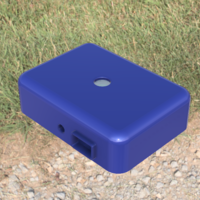 Small RainBerryZ: Weatherproof Case-Raspberry Pi Zero W and Pi Camera 3D Printing 140794
