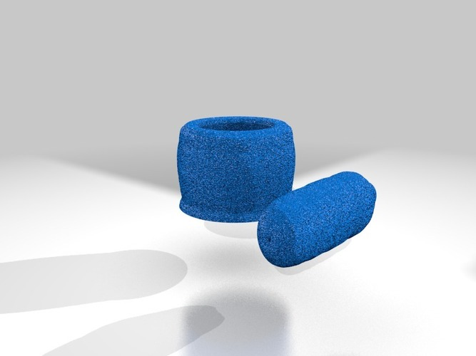 mortar and pestle for grinding 3D Print 14083