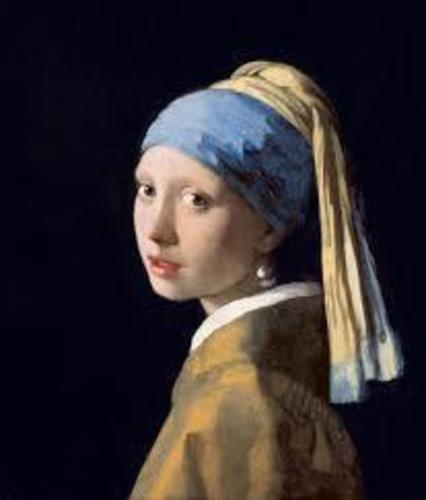 The Girl with the Pearl Earring (Vermeer) 3D Print 140860