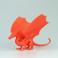 Small dragon dish without stand 3D Printing 14091