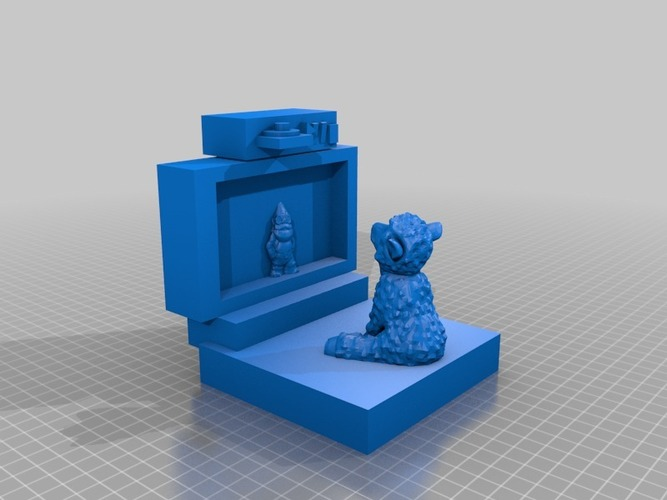 sheepy watching tv 3D Print 14099