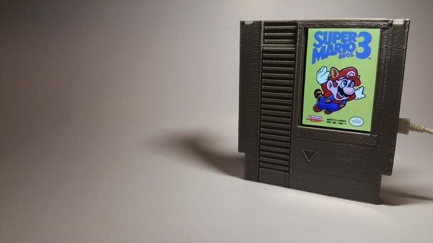 Label Slider - (NES) 3D Print 140991