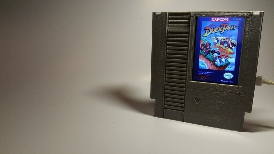 Label Slider - (NES) 3D Print 140998