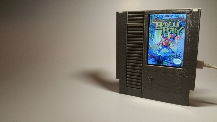 Label Slider - (NES) 3D Print 140999