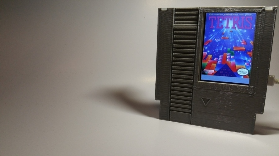 Label Slider - (NES) 3D Print 141000