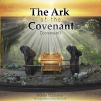Small The Ark of the Covenant - Diorama-KIT 3D Printing 141027