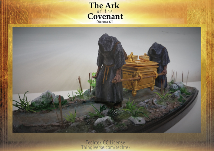 The Ark of the Covenant - Diorama-KIT 3D Print 141028