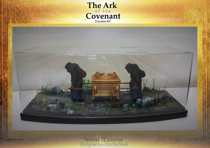 The Ark of the Covenant - Diorama-KIT 3D Print 141029