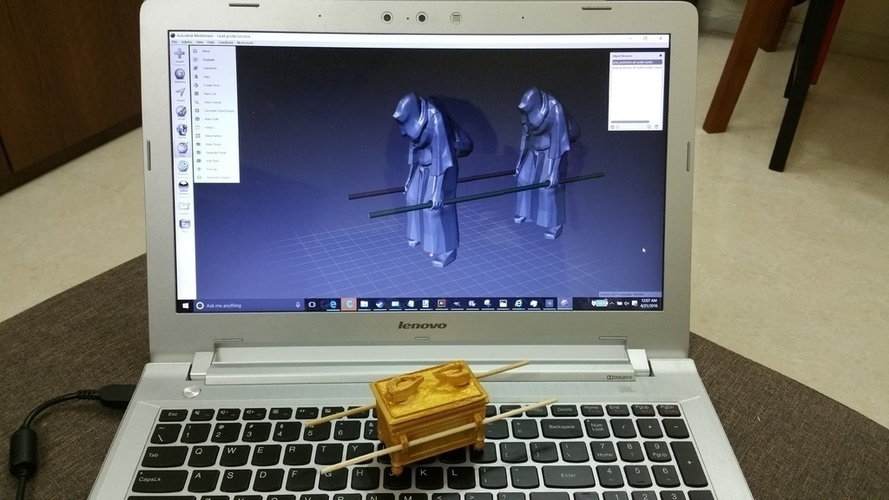 The Ark of the Covenant - Diorama-KIT 3D Print 141030