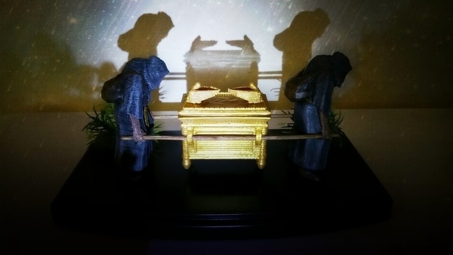 The Ark of the Covenant - Diorama-KIT 3D Print 141034