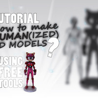 Small How to make Human(ized) 3D Models? (Tutorial + Example) 3D Printing 141049