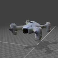 Small Hubsan Drone - Full body scan 3D Printing 141067