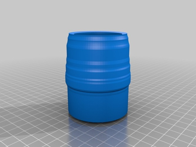 cup or pencil or tooth brush holder 3D Print 14110
