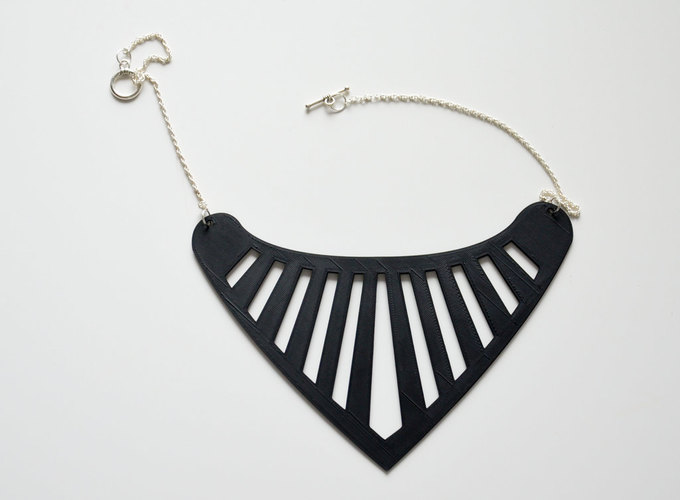 Triangle necklace 3D Print 141138