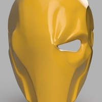 Small Deathstroke Mask 3D Printing 141156