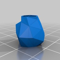 Small 3d Printable Dress Puff 3D Printing 14119