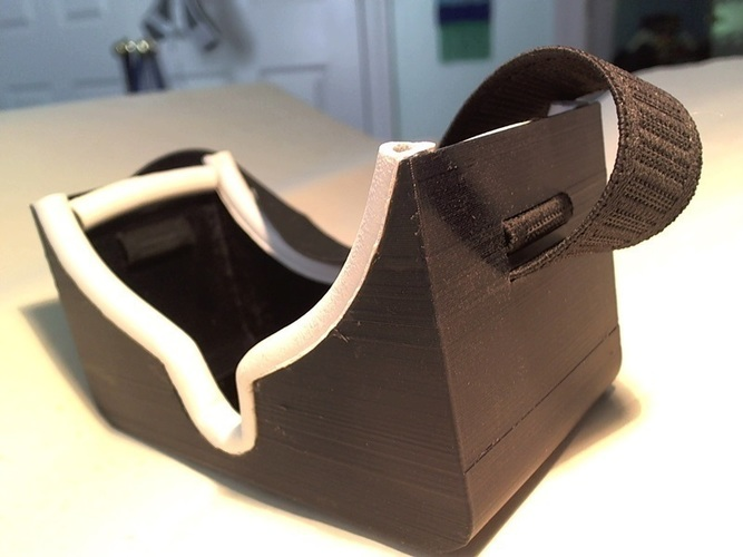 Solar Eclipse Viewing Goggles 3D Print 141207