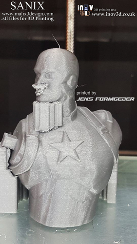 Avengers scene - Captain America 3D Printable Model  3D Print 141219