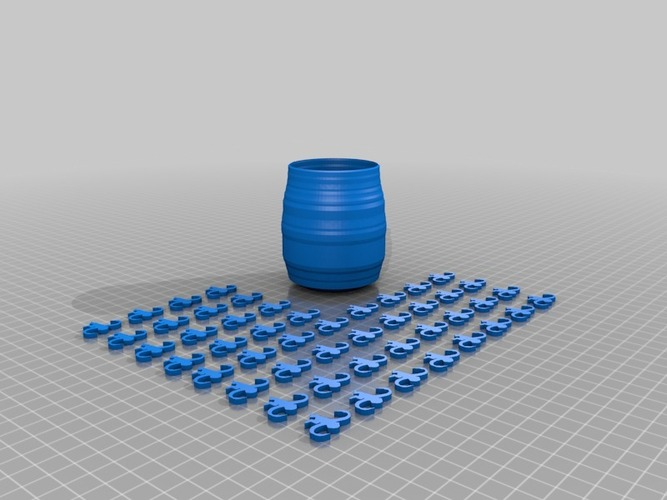 barrel of monkeys 3D Print 14122