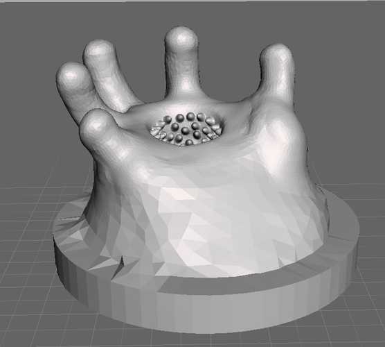 HellMouth Hand (28mm) 3D Print 141249
