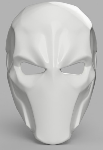Deathstroke Mask with two eyes 3D Print 141265