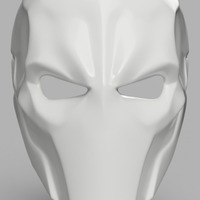 Small Deathstroke Mask with two eyes 3D Printing 141265