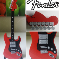 Small Fender Stratocaster in perfect scale 1:4, fully 3D printable 3D Printing 141295