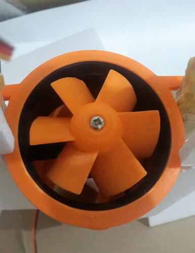 3800 kV ducted fan 64 mm 6 wings 3D Print 141296