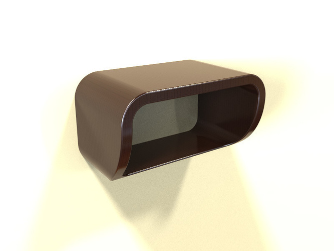 Simple 3D Printable Shelf 3D Print 141310