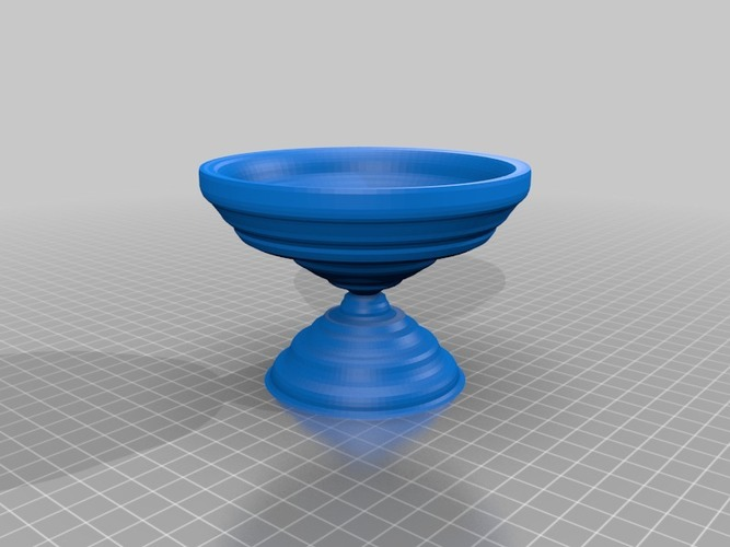 bird bath resize to make the right size 3D Print 14134