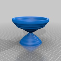 Small bird bath resize to make the right size 3D Printing 14134