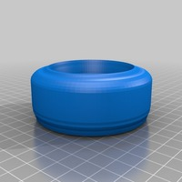 Small pet bowl 3D Printing 14136