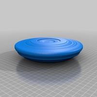 Small flying saucer 3D Printing 14140