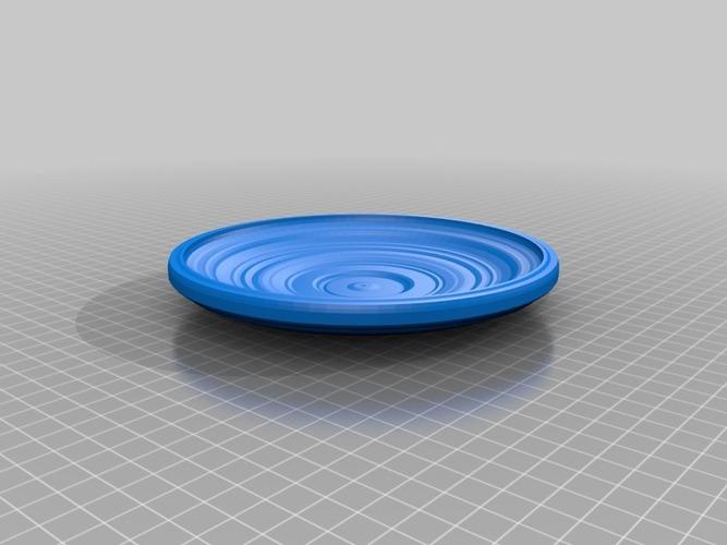 3D Printed frisbi by NeoQueenSarenity | Pinshape