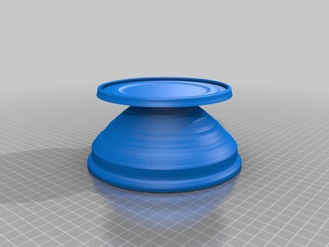 3D Printed solid platter by NeoQueenSarenity | Pinshape