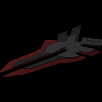 Small Project Zed Blade (League Of Legends) 3D Printing 141449
