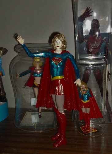 Supergirl articulated doll 3D Print 141472