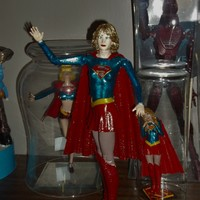 Small Supergirl articulated doll 3D Printing 141472