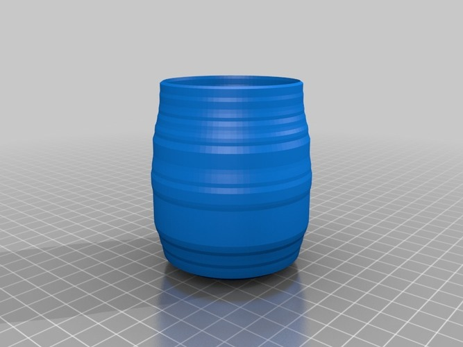 mini barrel 3D Print 14148