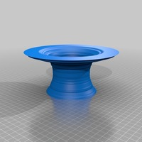 Small top hat vase stl 3D Printing 14152