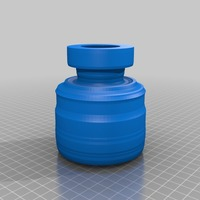 Small bottle vase stl 3D Printing 14153