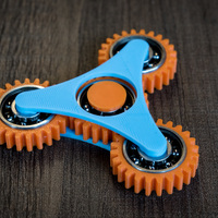 Small Geared Spinner 3D Printing 141552