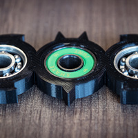 Small Batman Spinner 3D Printing 141564