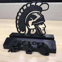 Small USC Trojans Fight On Phone Stand (multiple designs) 3D Printing 141617