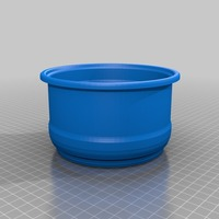 Small plant pot 1 3D Printing 14165