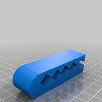 Small longer coffee bag clip on side version 2 3D Printing 14167