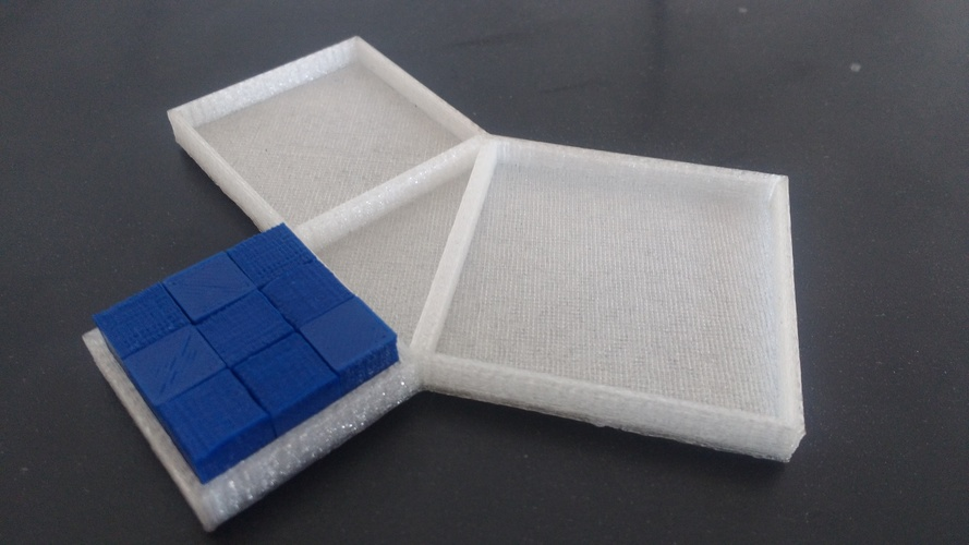 Pythagoras Theorem Proof 3D Print 141701