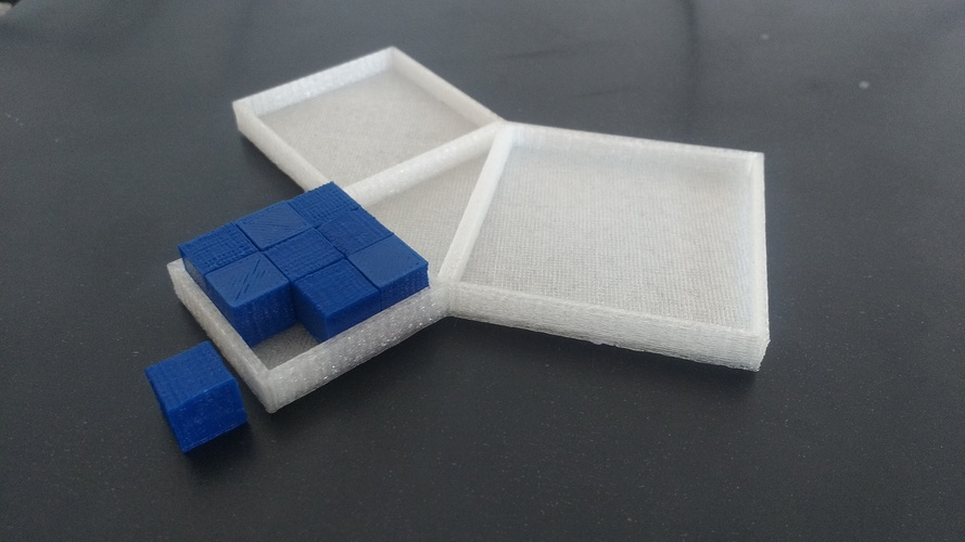Pythagoras Theorem Proof 3D Print 141702